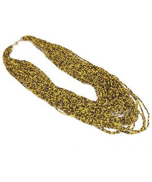 aradhya Beads Yellow Gold Plated Alloy Necklace