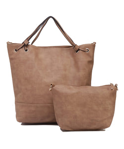 Fiona Trends Tan PU Shoulder Bag,6008_TAN