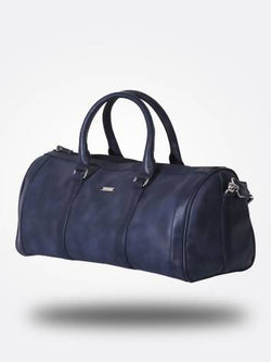 Strutt Unisex Blue Leatherette Duffle Bag –Cabin Baggage $ SMD509