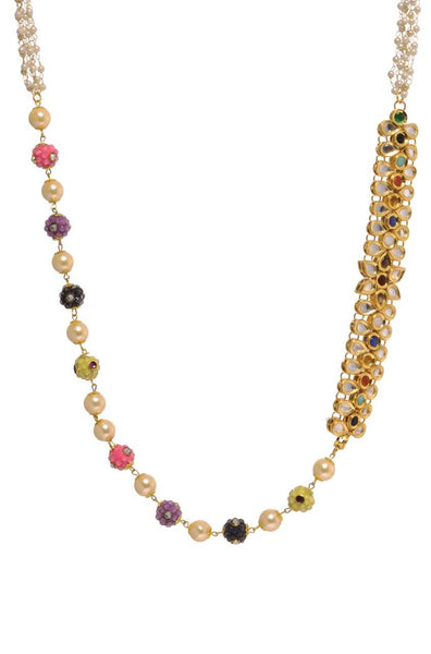 Kundan Band Necklace - JJSNNEC9728