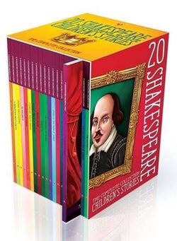 Twenty Shakespeare Children's Stories: The Complete 20 Books Boxed Collection