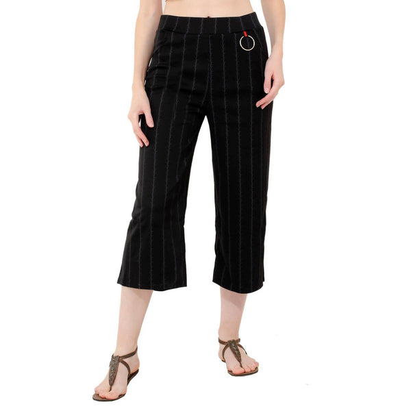 Baluchi Stretchable Designer Plain Casual Wear Palazzo Pant for Women and Girls $ BLC_PLZO_01