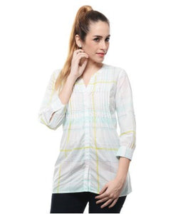 Push Multi Color 3/4 Slv Top