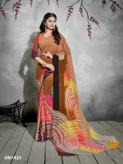 Umang NX Digital Designer Digital Printed Sarees $ UN7423
