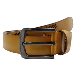 Baluchi The Beige Designer 100% Genuine Leather Belt $ BLC_LMT_105