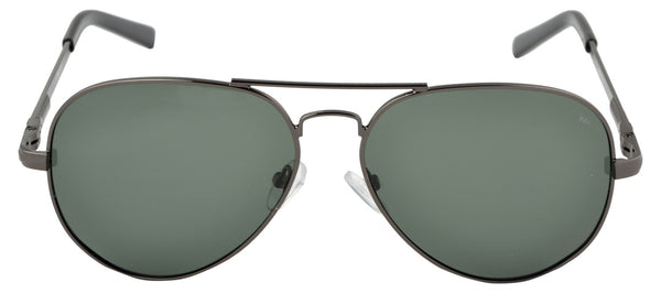 Lawman UV Protected Green Unisex Sunglasses-LawmanPg3 Sunglasses LM4513 C4 (Green)