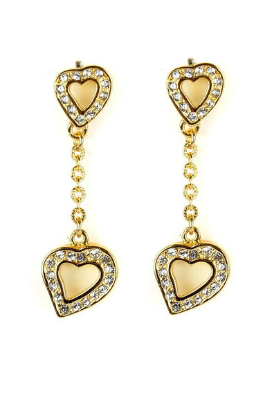 Hanging Hearts Earrings - JNFHEAR0939