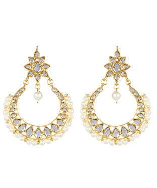 Aradhya Metal Drop Earring