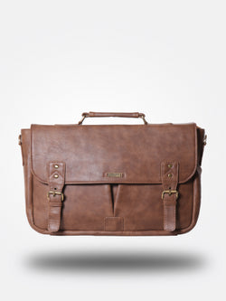Strutt Two Buckled Pocket Laptop Bag $ SML 176