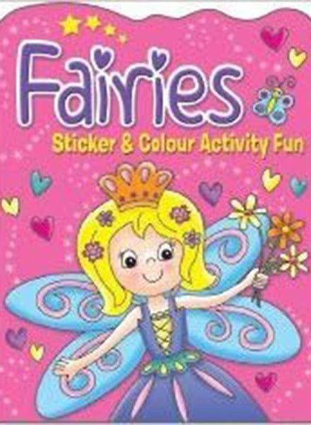 Fairies Sticker & Colour Activity
