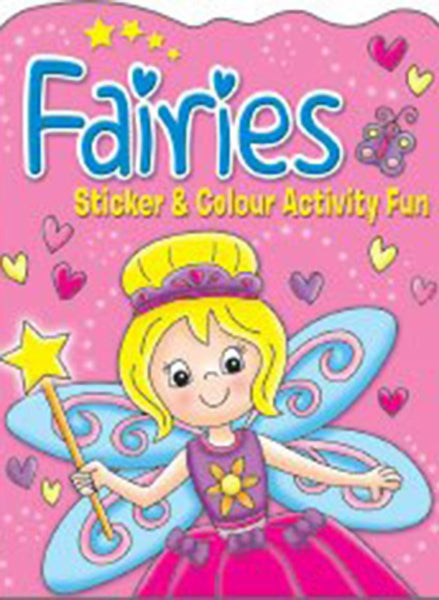 Brown Watson - Fairies: Sticker & Colour Activity Fun