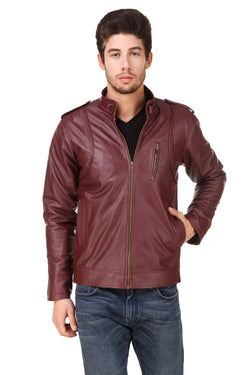 Smerize Men's Wolverine Faux Leather Jacket $ 7SME