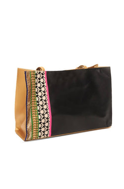 Black Shine Handbag - JPOMHBG9496