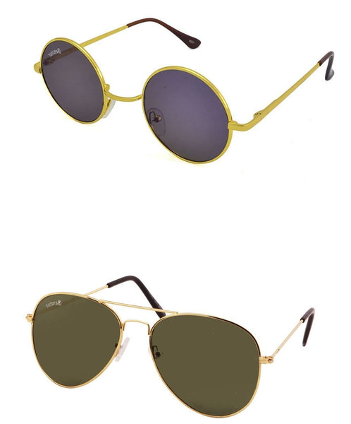 Benour pack of 2 Unisex Sunglasses $ BENCOM220