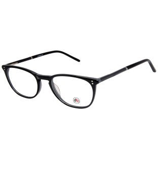 David Blake Black Grey Round Full Rim EyeFrame