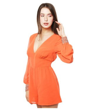 Xny Orange Jumpsuit