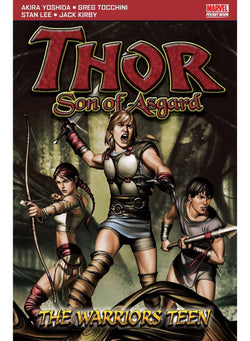 Thor Son Of Asgard: The Warriors Teen