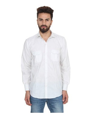 Lee Marc Men's White Shirt