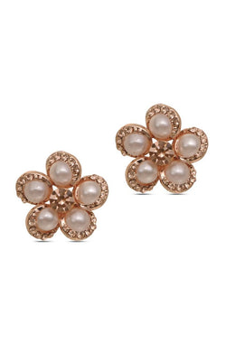 Pearly Bloom Earrings - JIFDEAR5504