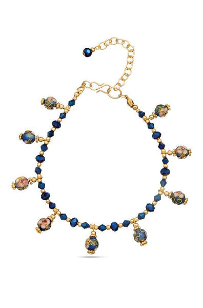 The Blues Anklet - JVIUANK1752