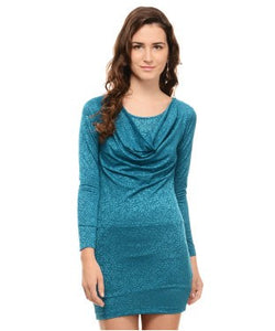 Intense By Soie Teal Blue Tunic