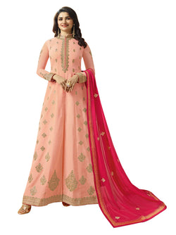 YOYO Fashion Joya Silk Anarkali Salwar Suit $ YO2-F1274