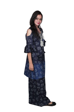 The Libas Closet Kurti pallazo set Cotton Dress $ Libas-044
