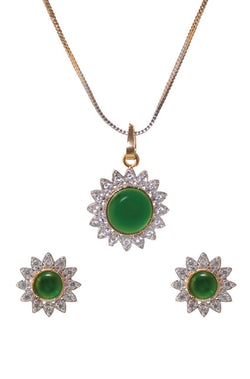 Bauble Burst Floral Fresh Pendant Set