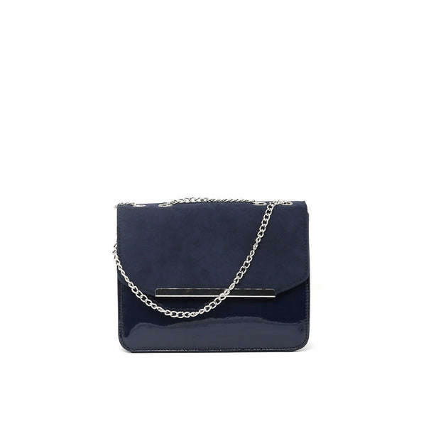 London Rag Womens Black Sling Bag-BG5191_NAVY