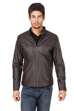 Smerize Men's Wolverine Faux Leather Jacket $ 9SME