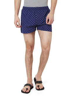 Hammock Men's Polka Dot Boxer Shorts - Navy Blue/White-H19D33J501OS