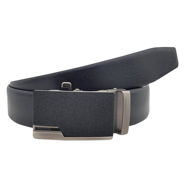 Baluchi's Chima Textured Formal Reversible Leather Belt with Auto lock Buckle $ BLC_LMAUTORV_04