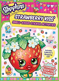 Shopkins Scented Sticker Activity - Strawberry Kiss