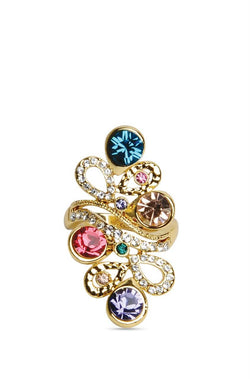 Crystal Twist Ring-8 - JGEPRIN9021S8