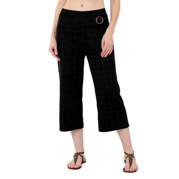 Baluchi Stretchable Designer Plain Casual Wear Palazzo Pant for Women $ BLC_PLZO_02