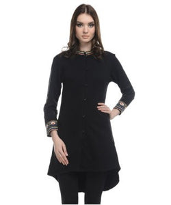 Sepia Black Tunic