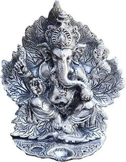 Silver Ganesh Murti | Ganesh ji | Ganesh God Idol | Silver Ganesh Murti Exclusive Gift for Diwali Gift, Wedding Gift, Birthday Gift and Corporate Gift Item $ R3-AIB9-2IYA