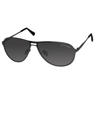 David Blake Black Aviator Polarised, UV Protected Sunglass