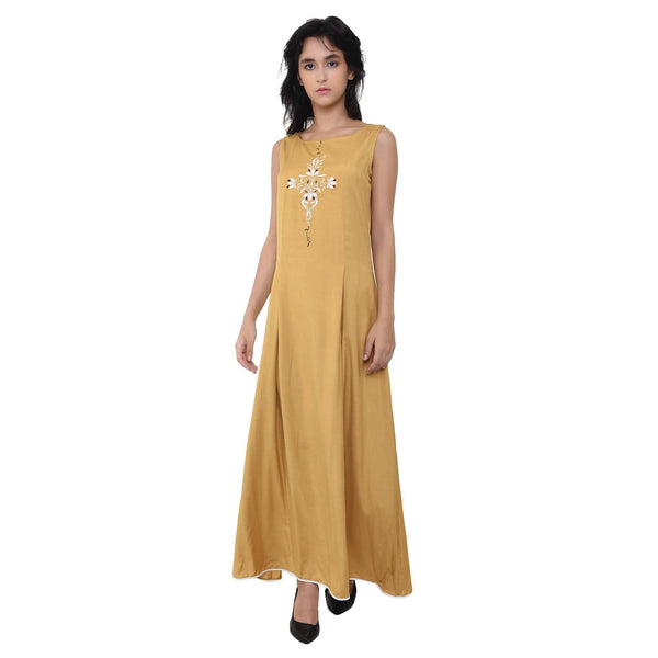 VRITTA Women's Embroidred Maxi Dress $ VR0001