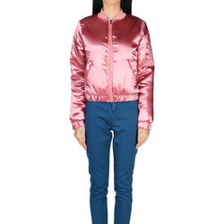 London Rag Women's Metallic Pink Jacket-CL7099