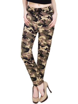 Baluchi Militery Print Plaid Jeggings $ BLC_JEG_28