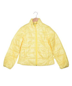 United Colors Of Benetton Yellow And Pink Jacket