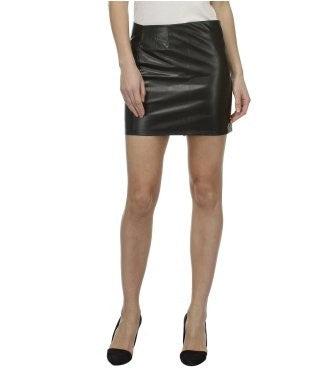 Glam a gal black mini skirt