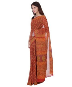 Urban Dori Red Saree