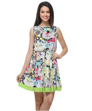 Quirk Box Short Dress