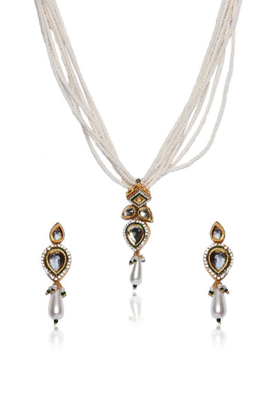 BAUBLE BURST Necklace With Earrings-100000940675
