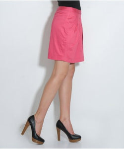 Elle Dark Pink Mini Skirt