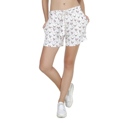 Second Half Deer Print Shorts-SH0016