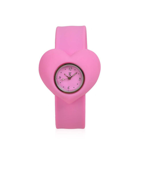 FASHION GARAGE PINK SILICONE UNISEX CASUALWATCH $ 100000090698
