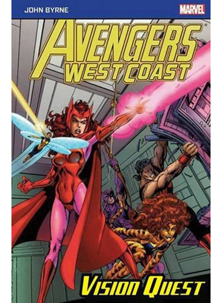 Avengers West Coast:Vision Quest